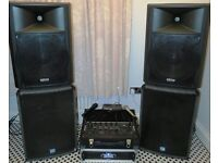 For sale –Mobile Disco / PA sound system