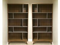 DWELL Bookshelves x 2