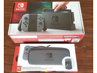 Nintendo Switch 32Gb + Carry Case + LCD Screen Protector (all brand new,selaed!)