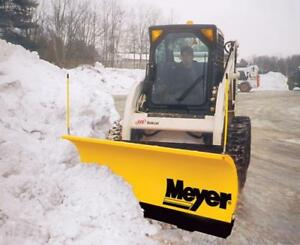 Brand New Meyer Skid Steer Snow Plow - Drive Pro, Lot Pro, Diamond Edge Snowplow for Skid Steers!