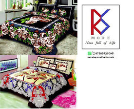 2 *Double Bed Sheet Sets +4 pillow cases+ 2 Cushions+Brand New 2016/17 Size 249*244 cm, Free Postage
