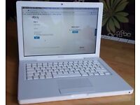 APPLE MACBOOK INTEL CORE 2 DUO 2.1GHZ 2GB RAM 250GB HDD WIFI WEBCAM CD/DVD+RW