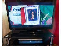 Technika 39 Inch Full HD TV and Sony Blu-ray Player