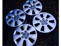 Genuine Audi alloy wheels - BARGAIN! 5x112