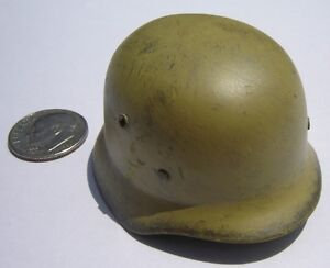 Soldier Story WWII German DAK Helmet 1/6 Toys Bbi Dragon Miniature DID Tropical