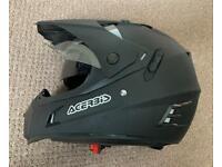 Acerbis Flip motorcycle Helmet Black Size M 57-58