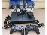 Ps2 + 22 great games + eye toy