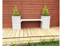 Garden Bench Planter, ideal for Garden, Patio or Balcony