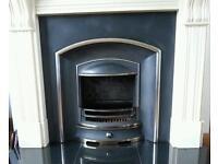 """Paris"" cast iron fireplace insert for sale"