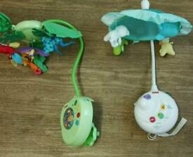 fisher-price 2-in-1 projection crib mobile, precious planet.