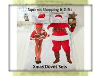 Mr & Mrs Santa Duvet Sets - NEW