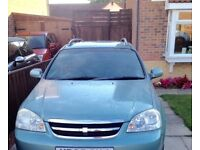 Chevrolet Lacetti, 2005 (05) Green Estate, Manual Petrol, 70,000 miles in Middlesbrough
