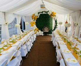 Marquee Hire Gazebo and Folding Chair Hire 