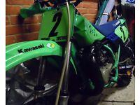 1987 Kawasaki KX 80 Motocross Motorbike