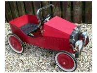 Great Gizmo Classic Vintage Steel Child's Pedal Car RRP £176.99