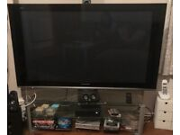 50inch Panasonic tv with stand