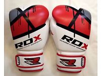 RDX QUADRO-DOME Fitness Boxing Gloves – Kickboxing/sparring VGC