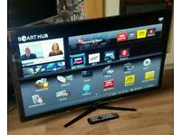 """SAMSUNG 46"""" SMART LED HD TV FREEVIEW WIFI APPS ETC"""