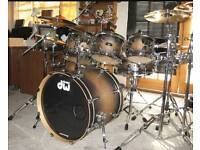 PDP FS Series drum kit made by DW drums cymbals full kit