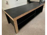 Large Black IKEA TV Stand