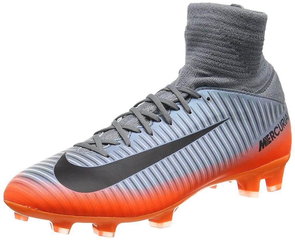 New Nike Mercurial Superfly IV FG Football Shoes BHM Black