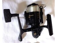 BRAND NEW FLADEN POWER SURF FISHING SPINNING REEL WITH LINE IN BOX. NEVER USED.