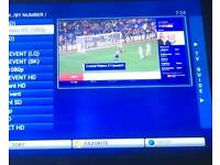 Mxq pro with 12 month iptv HD receiver ----------- smart tv zgemma h2h mag 256 mag 254 skybox f5s