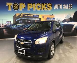 2015 Chevrolet Trax LS, Power Group, Low KMS, Bluetooth & More!