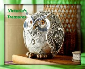 Silver Rose Owl (NEW)