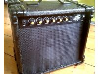 Guitar Amp 10 Watt Lovely Hohner Tega-10 with Overdrive