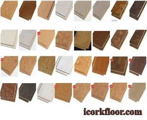 Warm up your cold basement by 7-15 degrees Celsius with cork flooring and cork underlayment