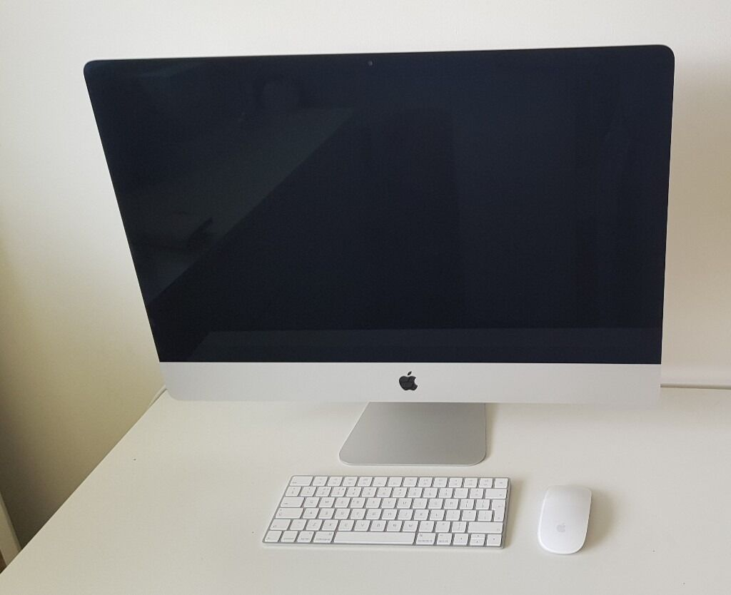Apple iMac retina 5k 27inch screenin Buxton, DerbyshireGumtree - Apple iMac retina 5K 27 inch screen Late 2015 version. 8GB 3.2Ghz intel core i5 Comes with original box, wireless keyboard and mouse. In excellent condition looks new. No mark or scratches. Well looked after. Only ever used a handful of times hence...