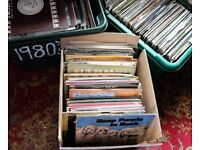 100 MIXED ROCK/POP/EASY/CLASSICAL/JAZZ RECORDS BARGAIN LOT £20