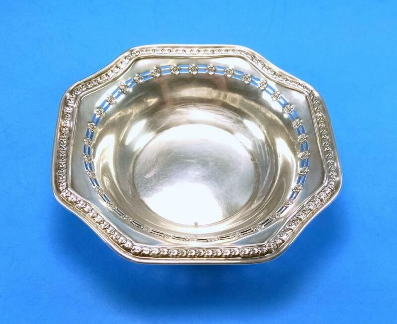 """STERLING SILVER BAKER MANCHESTER 024 DECORATIVE BOWL / DISH - 5"""""""