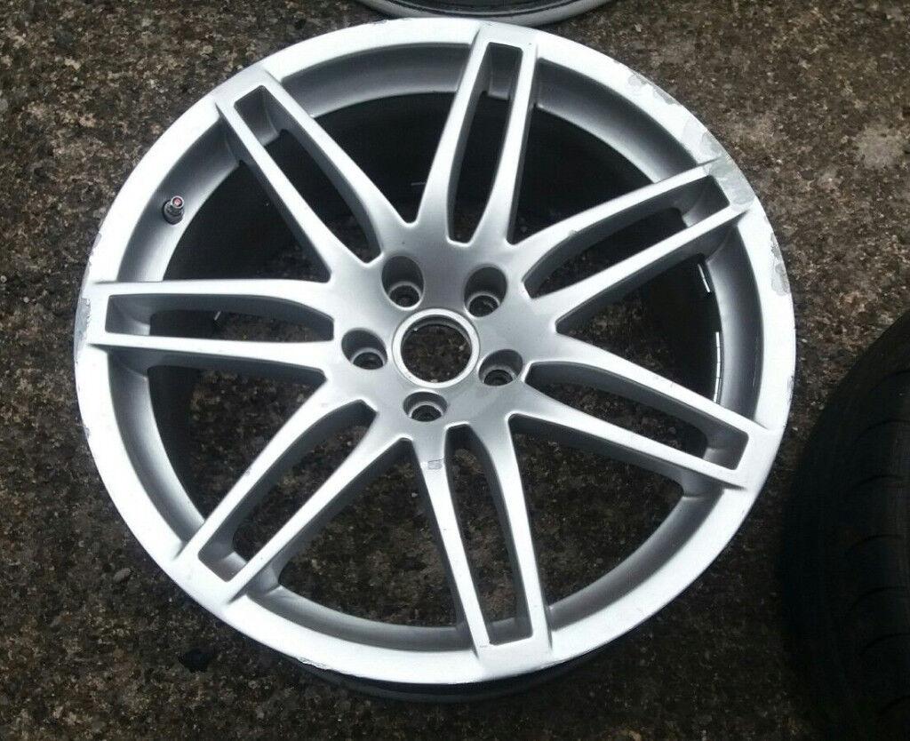 Genuine 19 X 9j Audi Rs4 B7 Alloy Wheel Et29 8e0601025ag