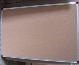 Bi-Office Corkboard. Notice board New and boxed 900 x 600mm Aluminium frame.