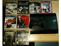 PS3 Super Slim 500GB massive bundle
