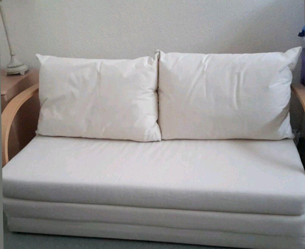 Groovy Argos Home Fizz Fabric 2 Seater Sofa Bed Natural Still 4 Sale In Dorchester Dorset Gumtree Machost Co Dining Chair Design Ideas Machostcouk
