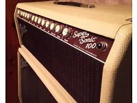 Fender Supersonic 100w Head and 4x12 slant top cab