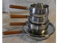 Prestige 4 piece Copper Bottom Pan Set