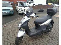 2012 Sym Symply 125cc, Superb,**RIDE AWAY TODAY**