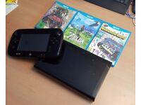 Nintendo Wii U 32GB and Games