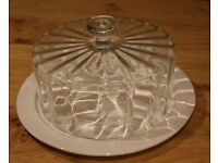 Laura Ashley Glass Cake Cover