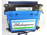 Shakespeare Fishing Tackle Box Seat with Top Box & Cushion 1805884