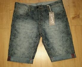 Brand new with tags - Primark - men's denim shorts