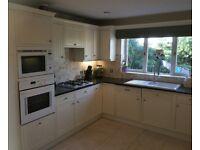 Kitchen with NEFF appliances and granite worktops
