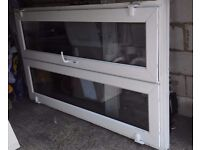 White UPVC double french patio doors for sale in good condition
