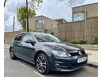 Volkswagen golf 2.0 TDIBlueMotion auto 2015 2 owners service history