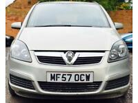 2007 (SEP07) VAUXHALL ZAFIRA 1.8 CLUB - 7 SEATS - AUTOMATIC - PETROL *LOW MILES - SERVICE HISTORY