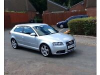 ✅IMMACULATE CONDITION AUDI A3 2.0 TDI S-LINE (S)-TRONIC DSG 170BHP 2008 REG!✅